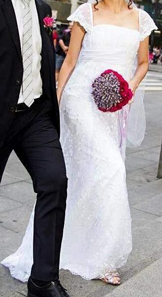Vestido de Noiva Rendado_foto principal