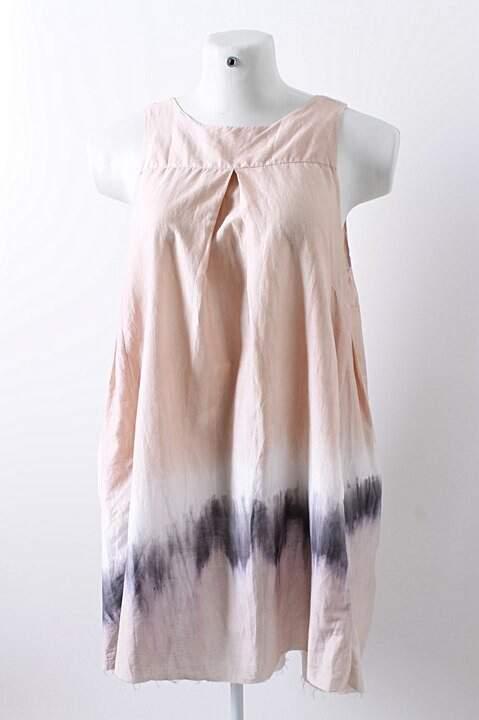 Vestido de Seda Tie Dye - TAM G_foto principal