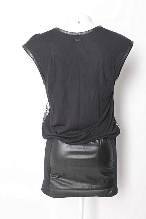 Vestido Estampado Colcci_foto de costas