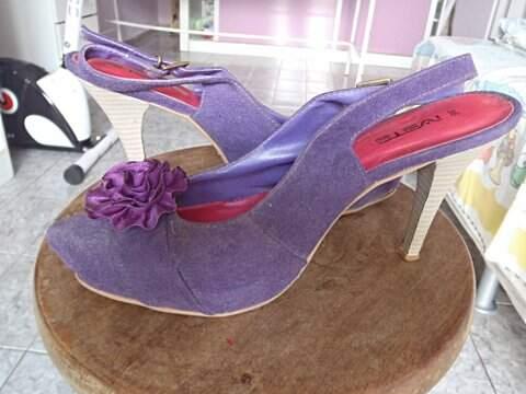 Sapato Ivete Roxo_foto de frente