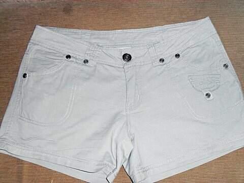 Shorts Cinza _foto principal