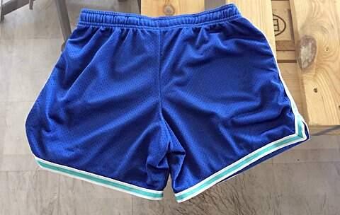 Shorts Nike Azul _foto principal