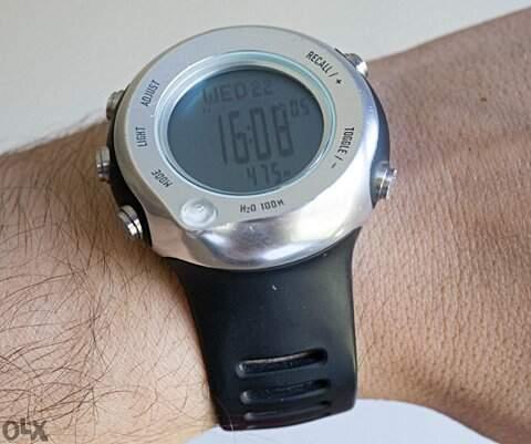 Relogio Nike Wa0018-001 Oregon Series Alti Compass _foto de costas