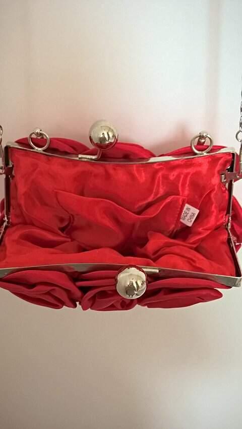 Bolsa Flores Vermelha_foto de detalhe