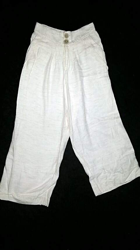 Calça Pantalona Linho_foto principal