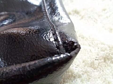 Bolsa Preta New York & Company_foto de costas