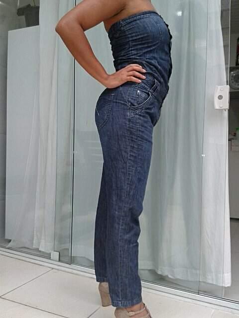 Macacão jeans _
