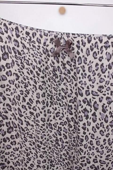 Calça de pijama feminina animal print _foto de detalhe