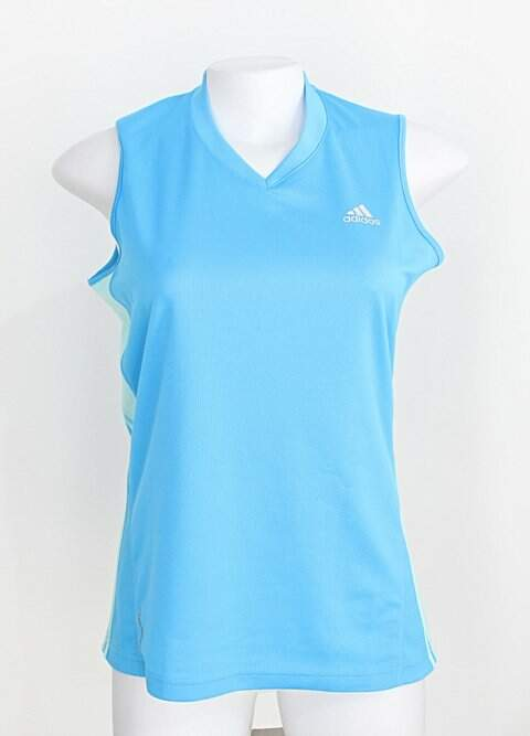 Blusa Esportiva adidas feminina azul_foto principal