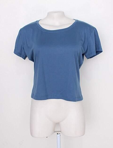Camiseta azul feminina _foto principal
