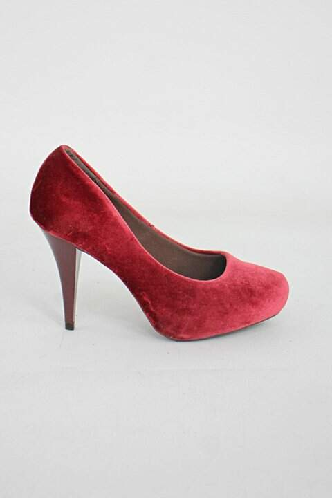 Sapato beira rio feminino vermelho_foto principal