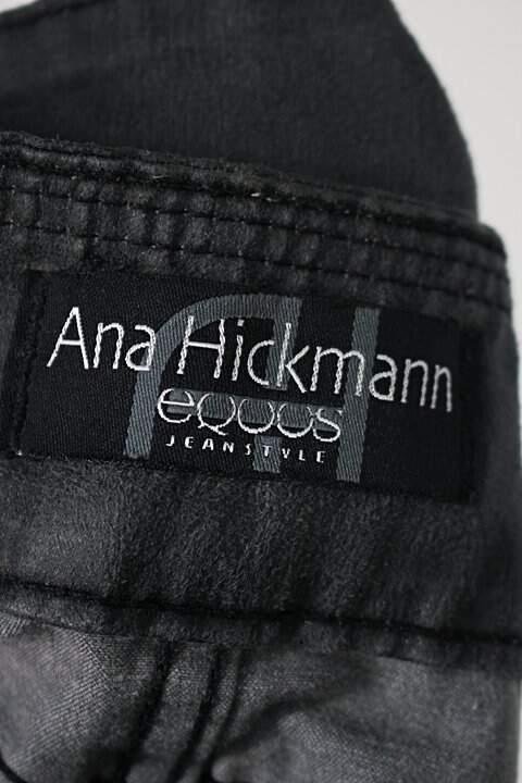 Calça de tecido recortes preto Equus_foto de detalhe