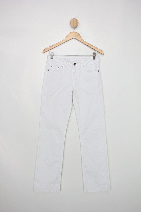 Calça de sarja formul@ jeans feminina branca_foto principal