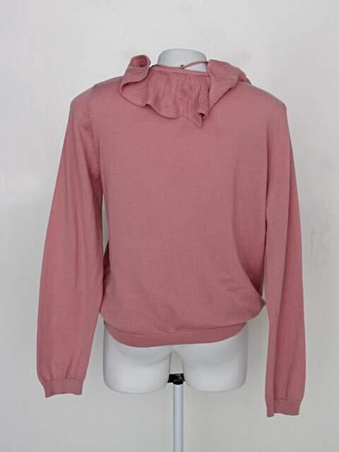 Suéter cea feminino rosa_foto de costas
