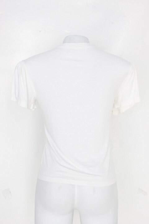 Blusa feminina branca com estampa_foto de detalhe