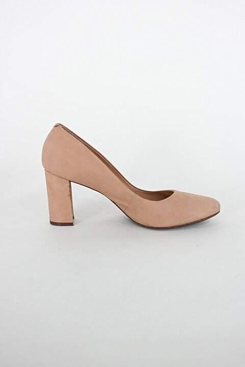 Sapato arezzo feminino bege_foto principal