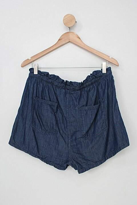 Shorts pool jeans feminino azul_foto de costas