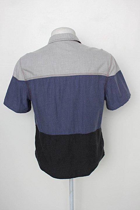 Camisa Polo masculina multicolor jachs_foto de costas