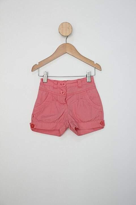 Shorts Infantil malwee rosa com bolsos _foto principal