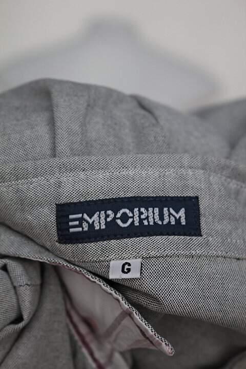 Camisa emporium feminina cinza_foto de detalhe