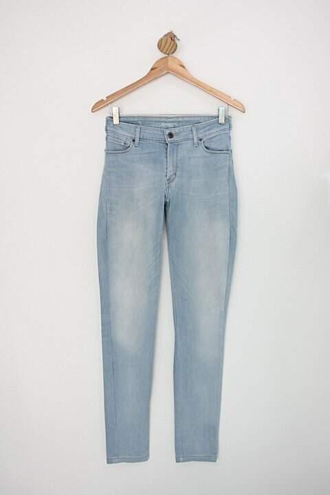 Calça Jeans levi's feminina azul claro_foto principal