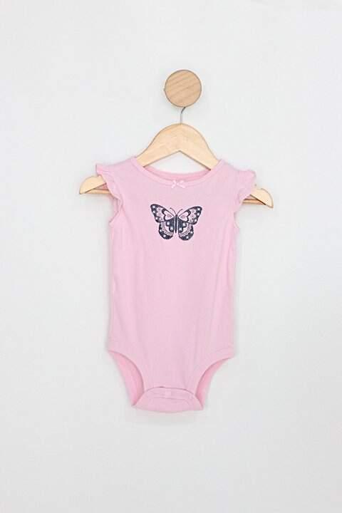 Body Infantil carters' rosa borboleta_foto principal
