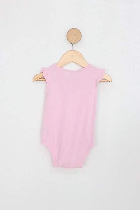 Body Infantil carters' rosa borboleta_foto de costas