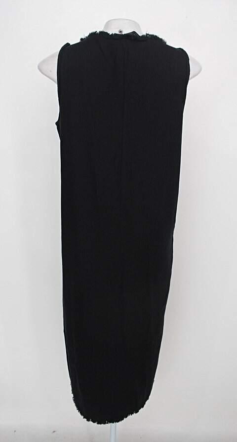 Vestido zara feminino preto_foto de costas