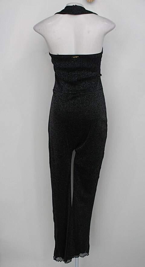 Macacão doce outuno feminino preto_foto de costas