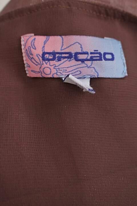 Vestido opção feminino rosa com Drapeado_foto de detalhe
