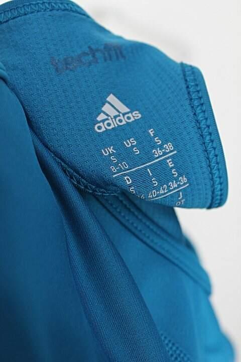Top Esportivo adidas feminino azul_foto de detalhe