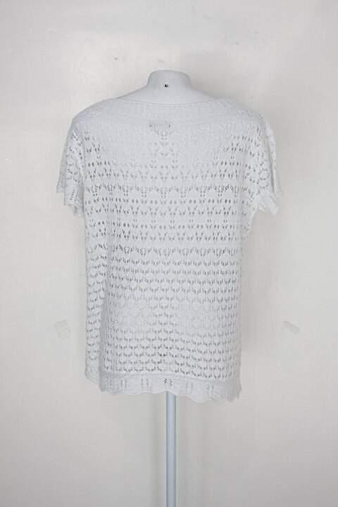 Blusa sequence feminino branco_foto de costas