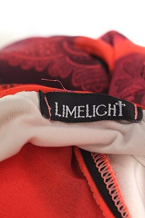 Blusa frente única limelight feminina vermelha estampada_foto de detalhe