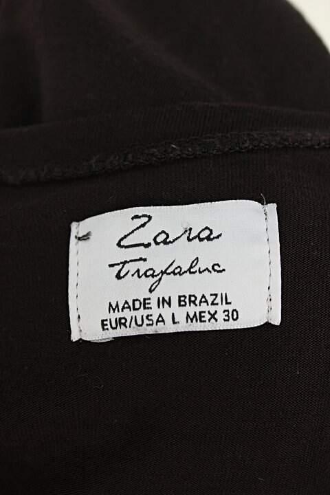 Blusa zara feminina preta_foto de detalhe
