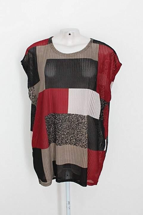 Blusa haute feminina estampada_foto principal