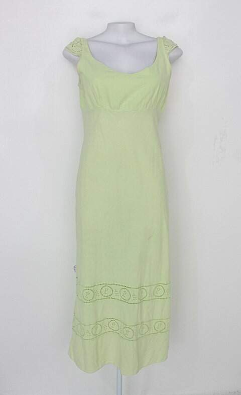 Vestido feminino verde claro paninaro_foto principal