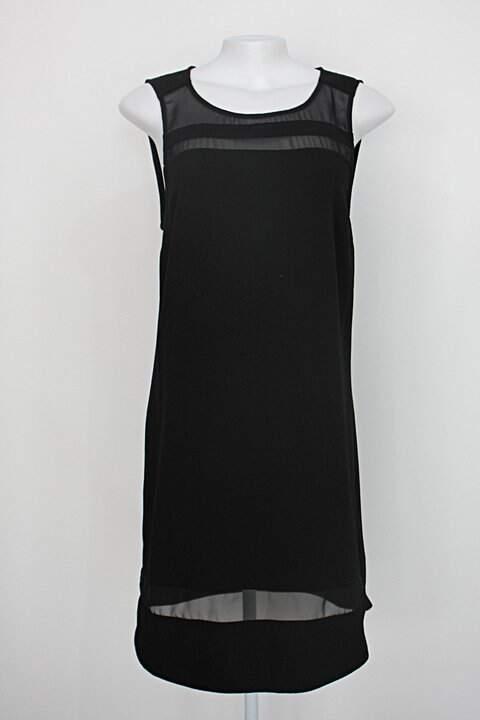 Vestido luigi berrtolli feminino preto_foto principal