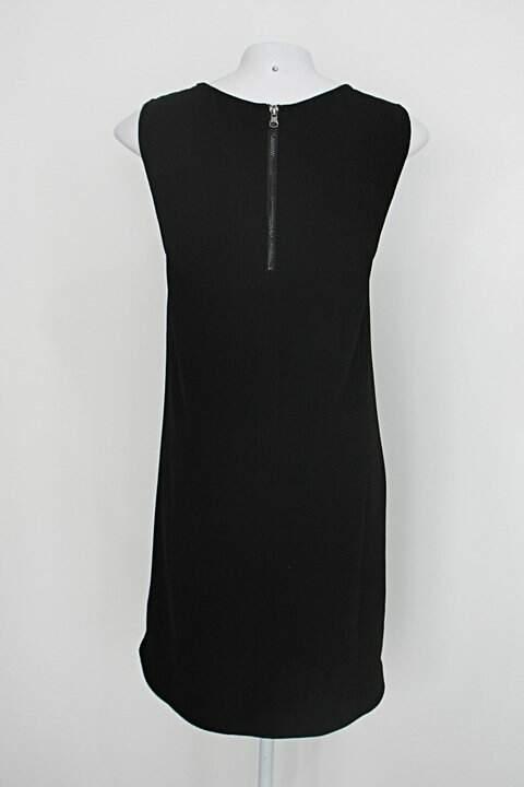 Vestido luigi berrtolli feminino preto_foto de costas