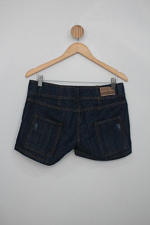 Shorts hering feminino azul_foto de costas