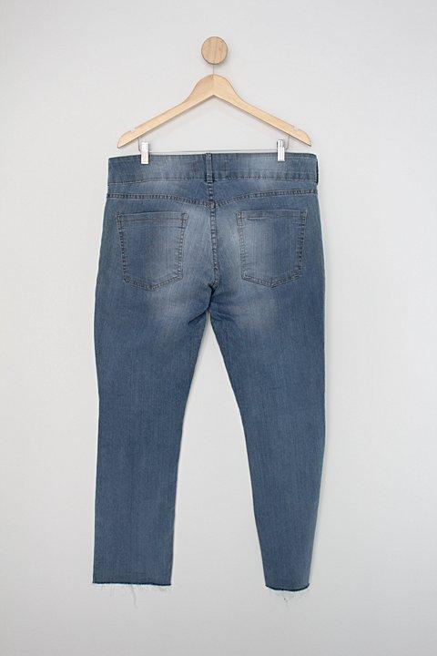 Calça Jeans c&a - clock house feminina _foto de costas