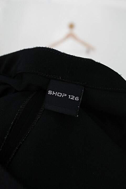 Calça de tecido shop 126 feminina preta_foto de detalhe
