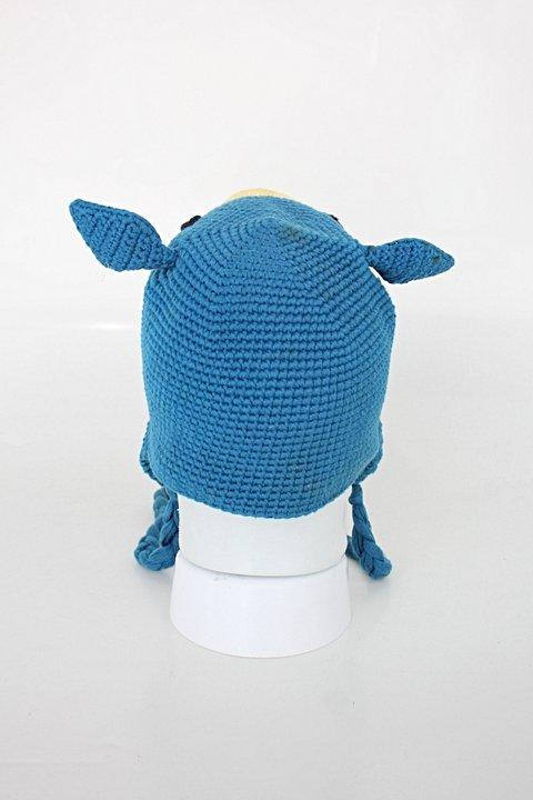 Gorro Infantil azul_foto de detalhe
