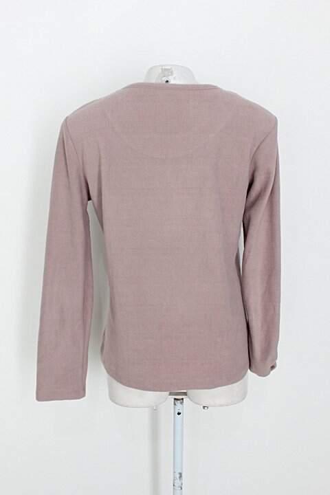 Blusa de pijama renner feminina rosa_foto de costas