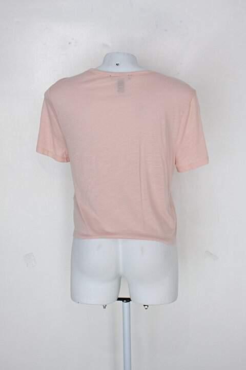 Blusa forever 21 feminina rosa_foto de costas