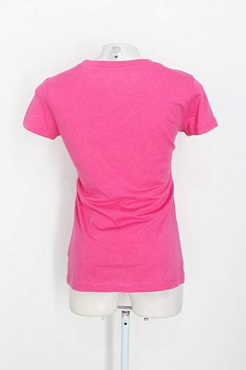 Camiseta bordada rosa  Aéropostale_foto de costas