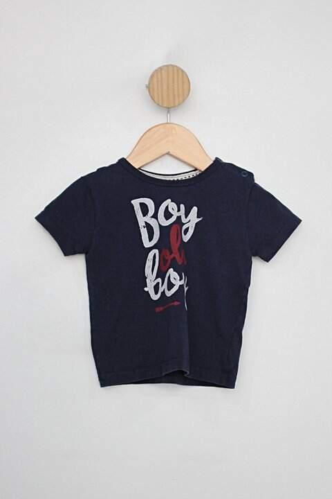 Camiseta Infantil luc.boo azul marinho _foto principal