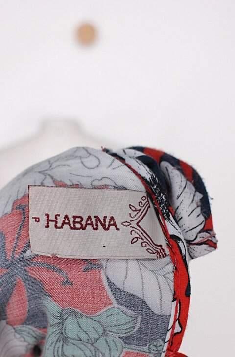 Blusa habana feminina estampada floral_foto de detalhe