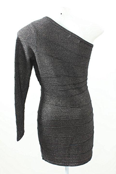 473203b94 Vestido Ombro Único INSP Lurex - compre por menos | Repassa