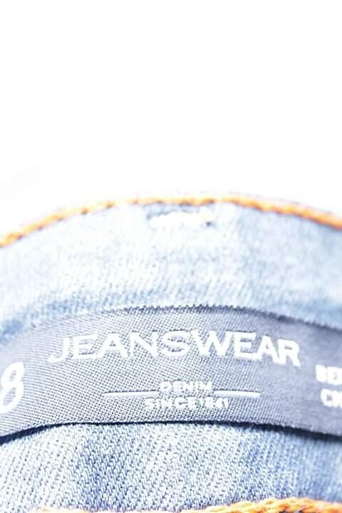 Bermuda Jeans Azul C&A_foto de costas