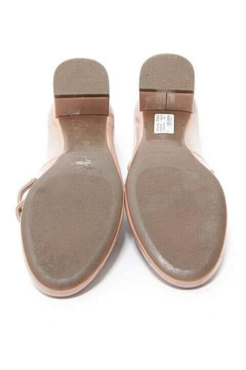 Sapato Verniz Rosa Claro Arezzo_foto de costas